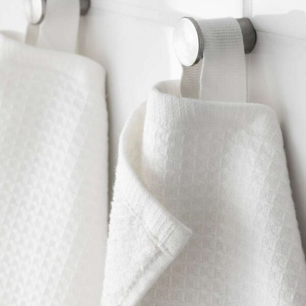 САЛЬВИКЕН Банное полотенце белый 70x140 см - Артикул: 403.704.24