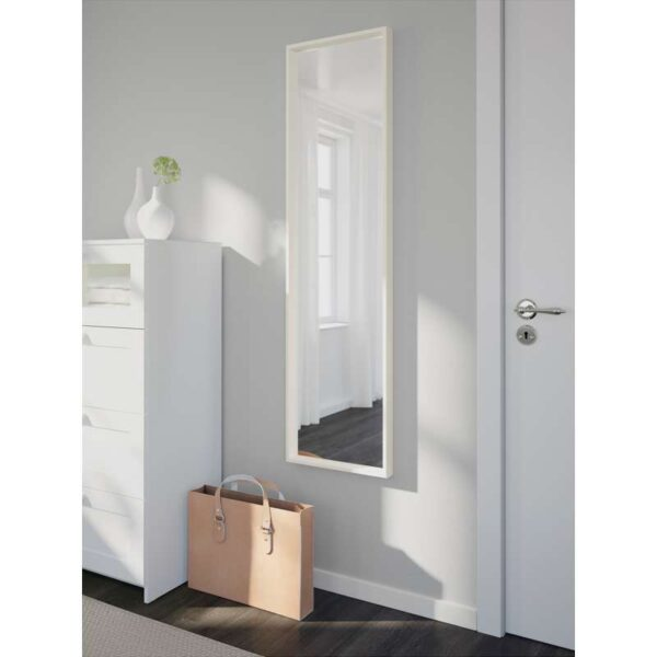 НИССЕДАЛЬ Зеркало белый 40x150 см - Артикул: 003.615.01
