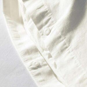 ЭНГСЛИЛЬЯ Пододеяльник и 1 наволочка, белый 150x200/50x70 см. Артикул: 903.185.65