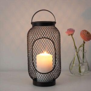 ТОППИГ Фонарь для формовой свечи черный 36 см - Артикул: 103.933.75
