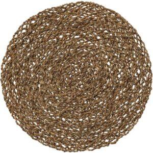 ИХОЛЛИГ Салфетка под прибор естественный/водоросли 37 см - Артикул: 303.796.51