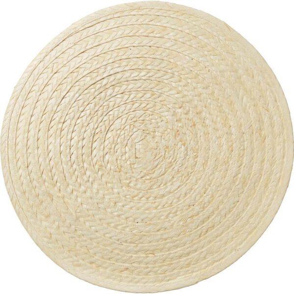 СЛУТЕН Салфетка под прибор пальмовый лист/естественный 37 см - Артикул: 803.794.70