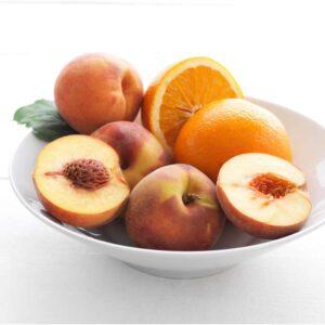 СИНЛИГ Ароматическая свеча в стакане Персик и апельсин/оранжевый 9 см - Артикул: 403.500.82