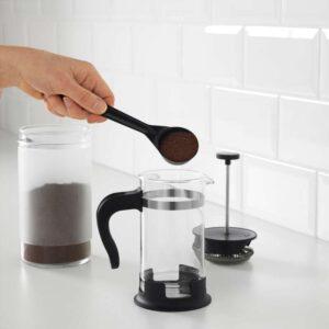 УПХЕТТА Кофе-пресс/заварочный чайник стекло/нержавеющ сталь 0.4 л - Артикул: 303.809.42