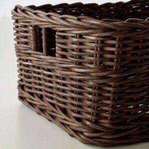 ГАББИГ Корзина темно-коричневый 25x29x15 см - Артикул: 203.764.22