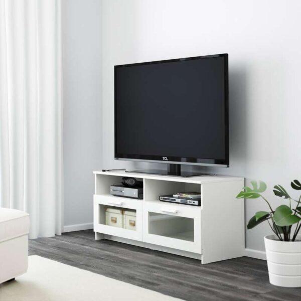 БРИМНЭС Тумба под ТВ, белый - 120x53 см > Артикул: 503.910.20
