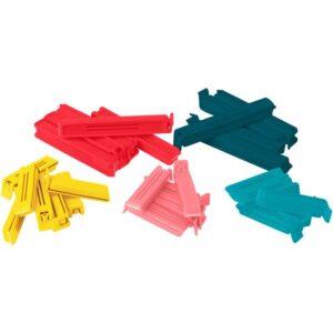 БЕВАРА Зажим для пакетов 30 штук разные цвета разные цвета/различные размеры - Артикул: 103.749.56