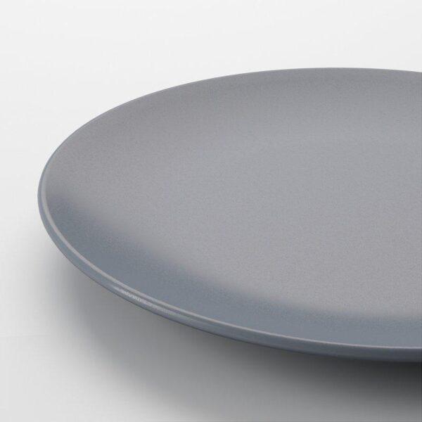 ДИНЕРА Тарелка десертная серо-синий 20 см - Артикул: 204.114.73
