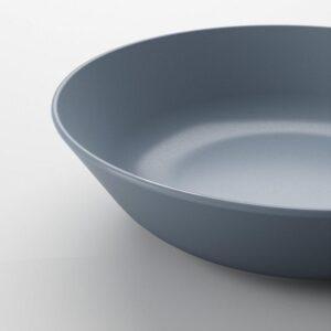 ДИНЕРА Тарелка глубокая серо-синий 22 см - Артикул: 004.114.69