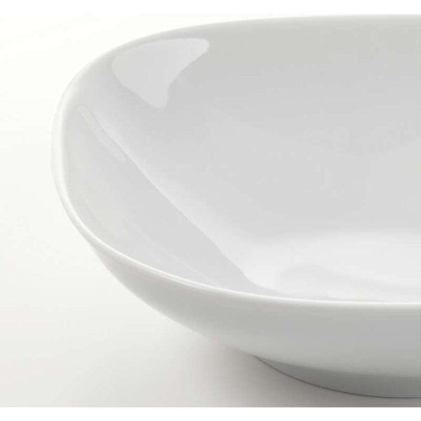 ВЭРДЕРА Тарелка глубокая белый 20x20 см - Артикул: 703.750.00