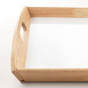 КЛАКК Поднос каучуковое дерево 38x58 см - Артикул: 003.736.79