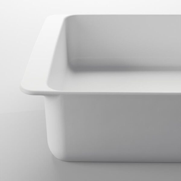 ИКЕА/365+ Форма для духовки белый 32x20 см - Артикул: 503.725.78