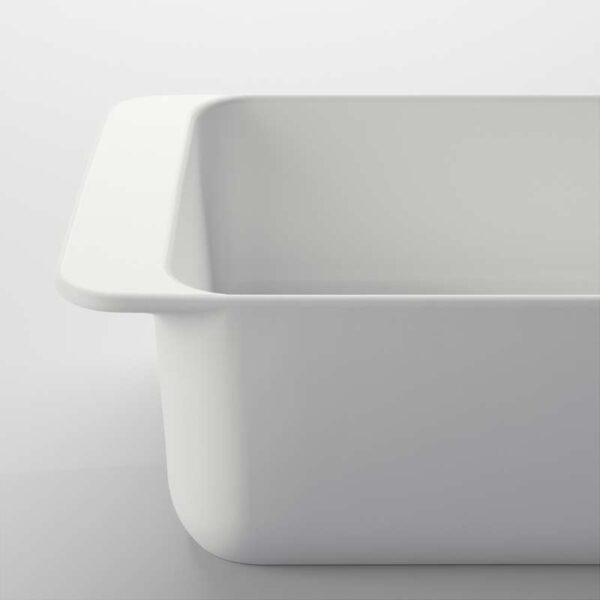 ИКЕА/365+ Форма для духовки белый 18x13 см - Артикул: 703.725.77