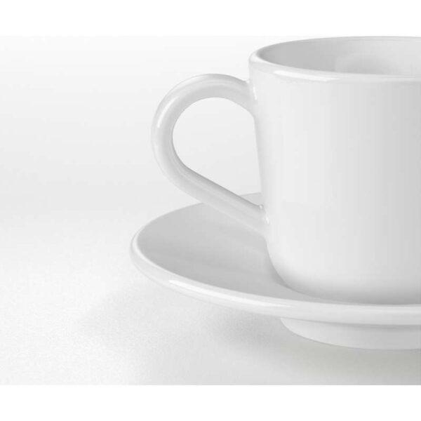 ИКЕА/365+ Чашка для кофе эспрессо с блюдцем белый 6 сл - Артикул: 503.789.81