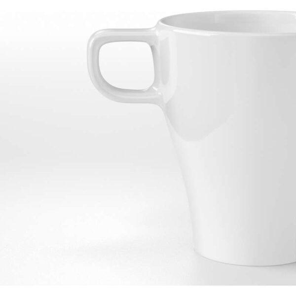 ФЭРГРИК Кружка каменная керамика белый 25 сл - Артикул: 603.721.15