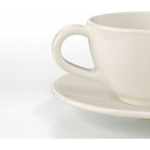 ВАРДАГЕН Чашка кофейная с блюдцем белый с оттенком 14 сл - Артикул: 903.723.93