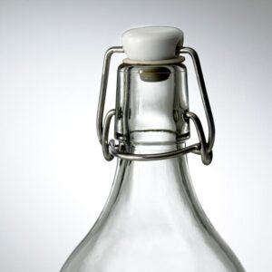 КОРКЕН Бутылка с пробкой прозрачное стекло 0.5 л - Артикул: 403.807.53