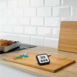 ФАНТАСТ Термометр/таймер для мяса цифровой черный - Артикул: 603.746.66