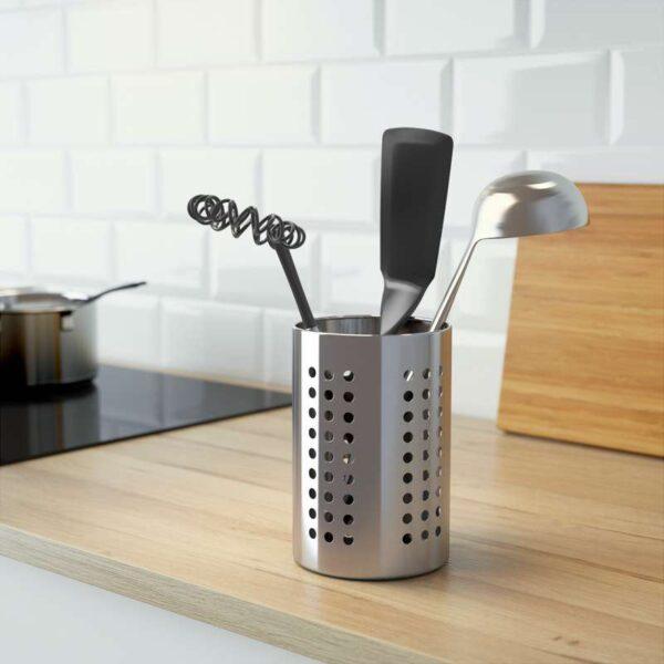 ОРДНИНГ Сушилка д/кухонных принадлежностей нержавеющ сталь 18 см - Артикул: 903.731.42