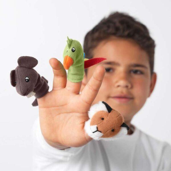ТИТТА ДЬЮР Кукла на палец разные цвета разные цвета - Артикул: 903.661.08