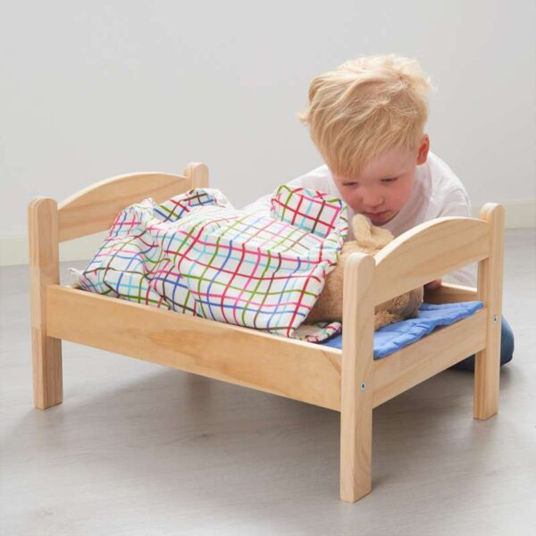 ДУКТИГ Куколн кровать с компл пост белья сосна/разноцветный - Артикул: 603.660.58