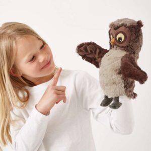 ВАНДРИНГ УГГЛА Кукла перчаточная - Артикул: 103.661.12