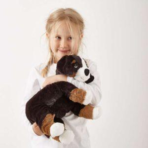 ХОППИГ Мягкая игрушка собака/бернская овчарка белый 36 см - Артикул: 103.660.94