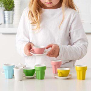 ДУКТИГ Набор для кофе/чая 10 прдм разноцветный - Артикул: 803.660.57