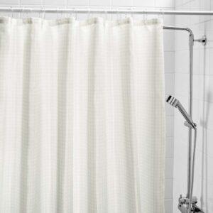 САКСЭЛЬВЕН Штора для ванной белый 180x200 см - Артикул: 703.490.73