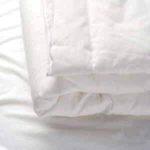 ЛЕН Одеяло в детскую кроватку белый 110x125 см - Артикул: 503.661.91