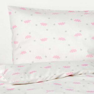 ХИММЕЛЬСК Комплект постельного белья, 3 предм, розовый 110x125/35x55 см. Артикул: 003.707.27