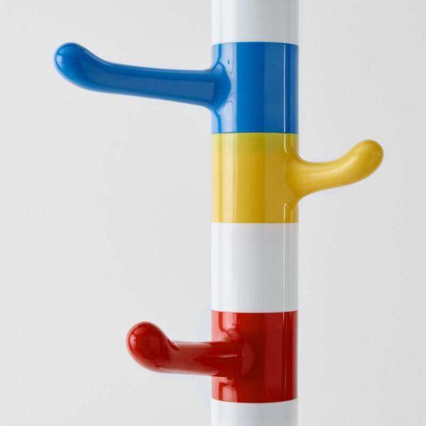 КРОКИГ Вешалка д/одежды белый/разноцветный 128 см - Артикул: 003.659.95