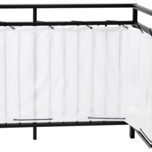 ДИНИНГ Балконный экран белый 250x80 см - Артикул: 803.757.35
