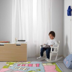 СУНДВИК Кресло-качалка детское белый - Артикул: 103.661.45