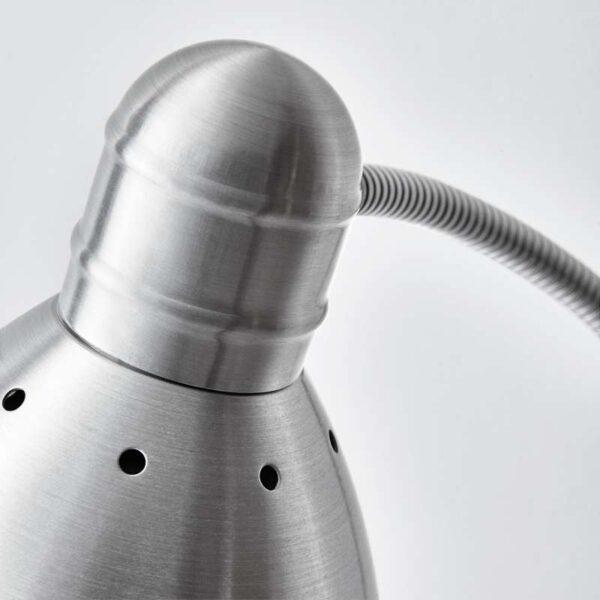 ЛЕРСТА Светильник напольн/для чтения алюминий - Артикул: 403.604.82
