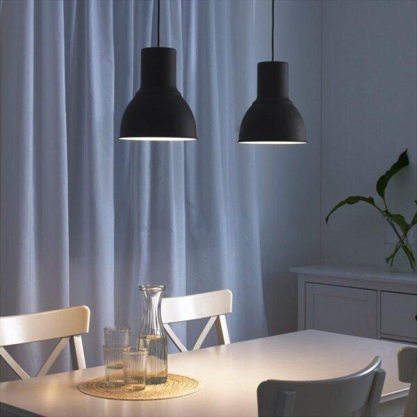 ХЕКТАР Подвесной светильник темно-серый 22 см - Артикул: 003.903.77