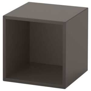 ЭКЕТ Навесной модуль темно-серый 35x35x35 см - Артикул: 392.858.32