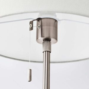 НИФОРС Лампа настольная никелированный белый - Артикул: 703.606.02