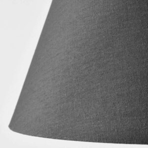 ОЛЬСТА Абажур серый 42 см - Артикул: 103.606.57