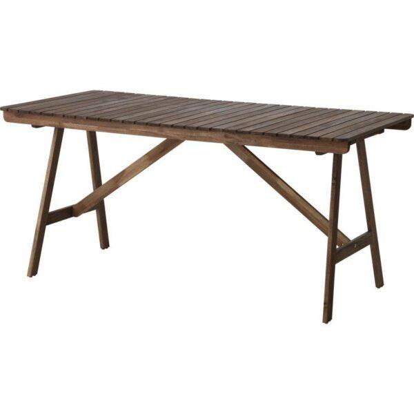 ФАЛЬХОЛЬМЕН Садовый стол серо-коричневый 153x73 см - Артикул: 403.757.42