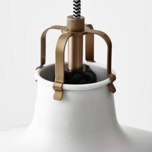 РАНАРП Подвесной светильник белый с оттенком 38 см - Артикул: 903.909.76