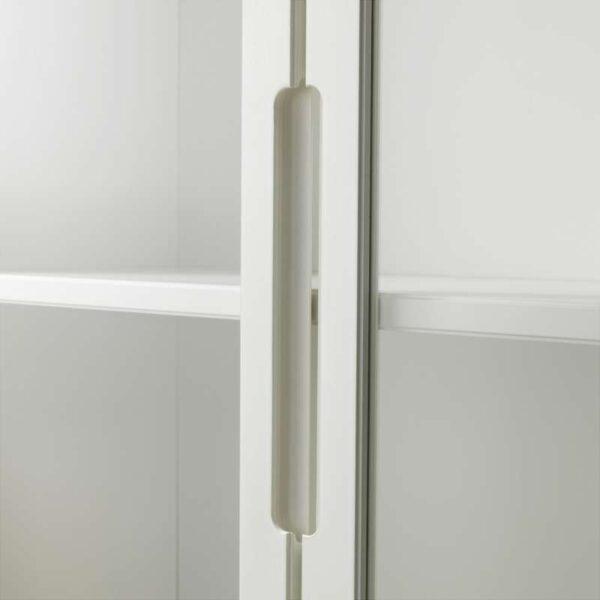 РЕЖИССЁР Шкаф-витрина белый 118x203 см - Артикул: 203.623.40