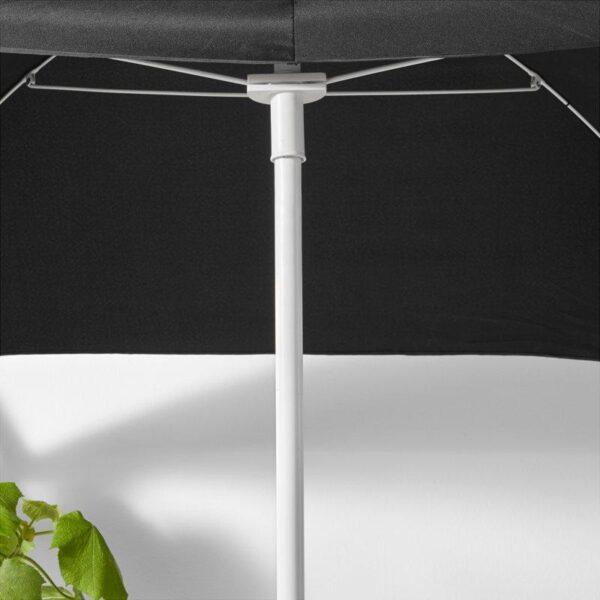 ФЛИСО Зонт от солнца черный 160x100 см - Артикул: 503.757.51