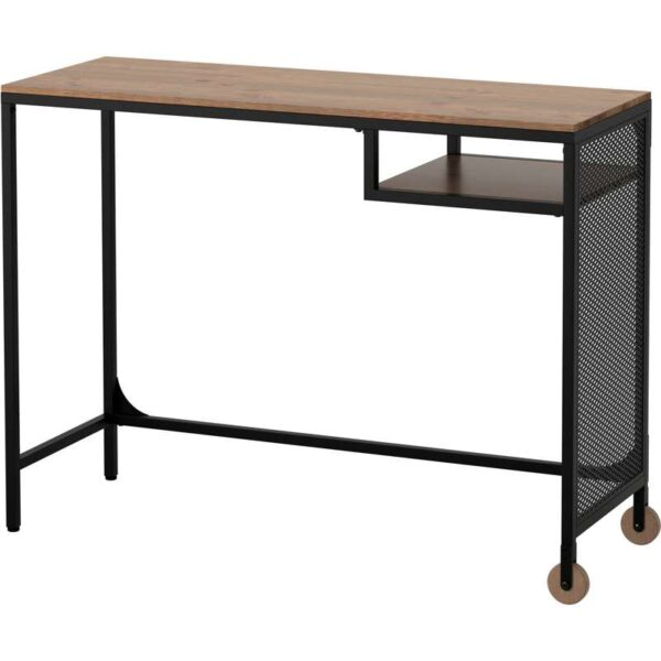 ФЬЕЛЛЬБО Стол д/ноутбука черный 100x36 см - Артикул: 703.599.10