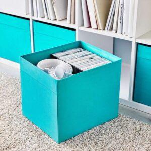 ДРЁНА Коробка синий 33x38x33 см - Артикул: 503.804.89