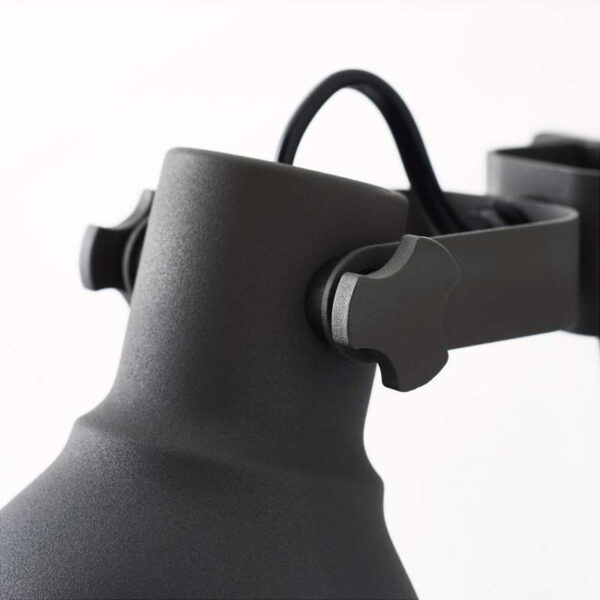 ХЕКТАР Настенный софит/лампа с зажимом темно-серый - Артикул: 903.867.43