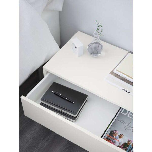 ЭКЕТ Шкаф с 2 ящиками белый 70x35x35 см - Артикул: 203.593.71