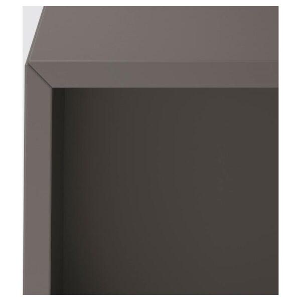 ЭКЕТ Навесной модуль с 4 отделениями темно-серый 70x35x70 см - Артикул: 692.858.35