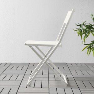 ФЕЙЯН Садовый стул складной белый - Артикул: 903.757.49