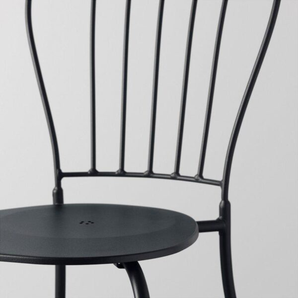 ЛЭККЭ Стол+2стула д/сада серый - Артикул: 092.288.95